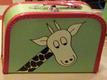 Grön med giraff och kantband