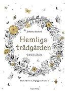 Hemliga Trädgården - Tavelbok