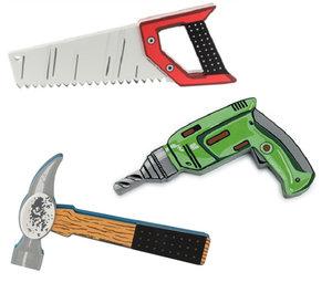 Olika verktyg för barn