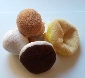 Tyg svampar