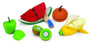 Fruktset dela och skala