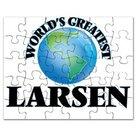 Pussel Larsen med många olika motiv