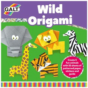 Vilda djur Orgami