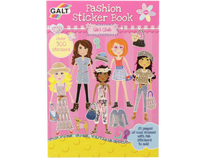 Girl Club Stickerbok