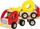 Biltrailer med traktor